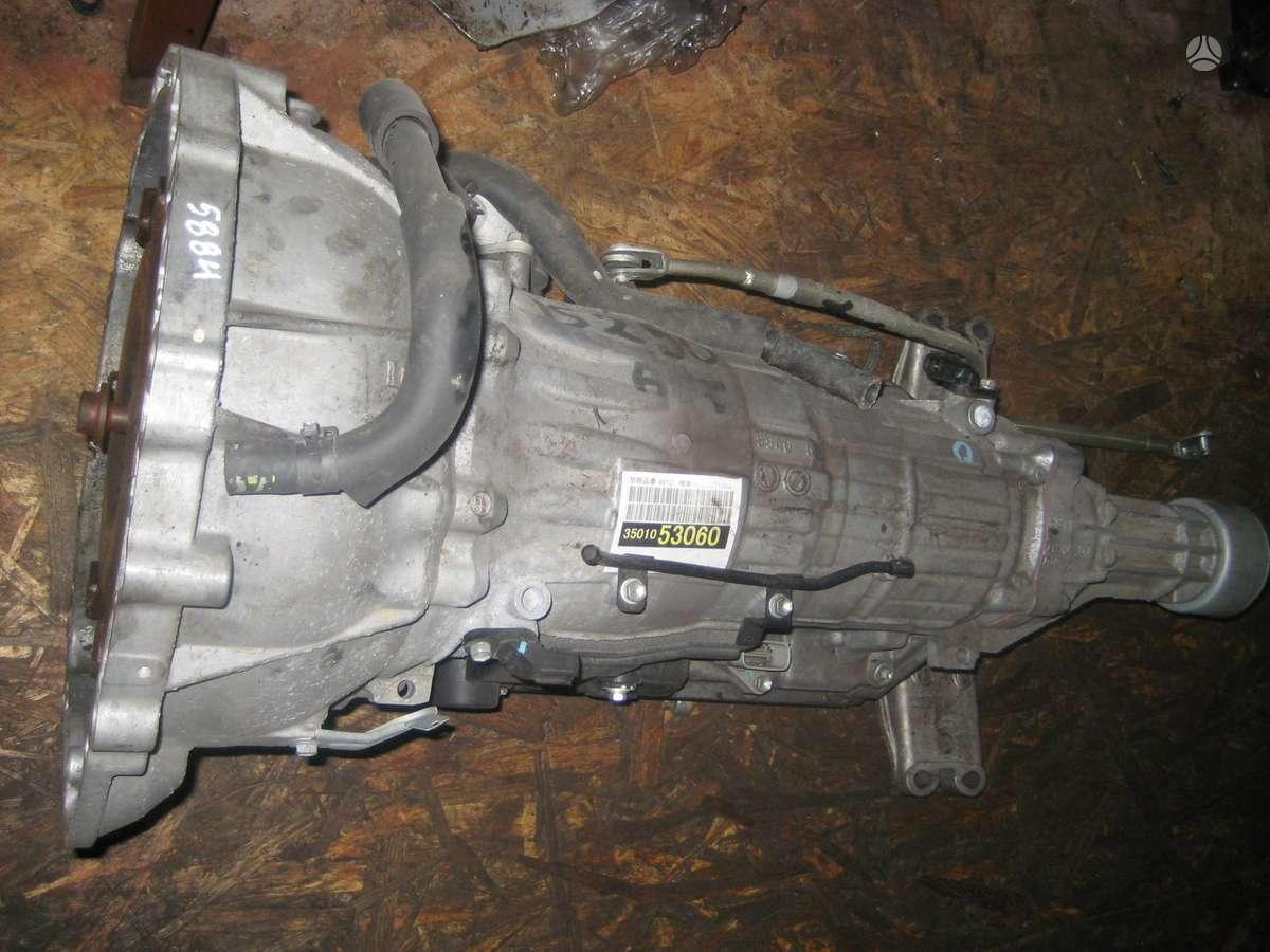 Lexus IS klasė. 1 akpp a960e-670e.  variklis 750e 2 mechanine