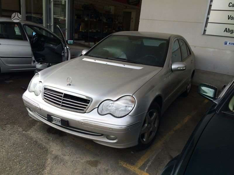 Mercedes-Benz C240 dalimis. +37065559090 europa is (ch) возможн