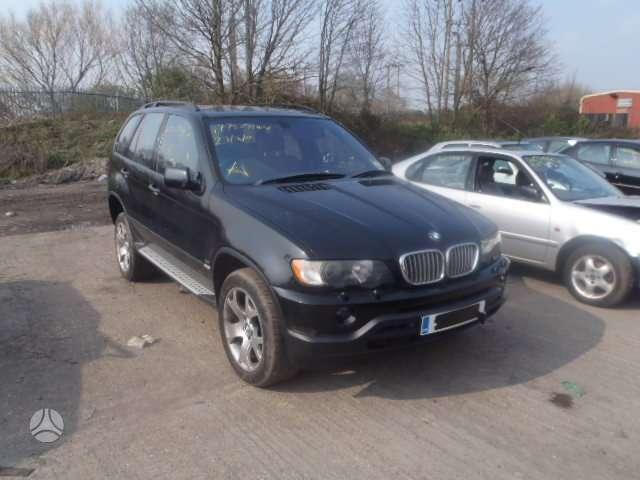 BMW X5. Bmw x5 4.4, juodas odinis salonas, ratai r19,juodos