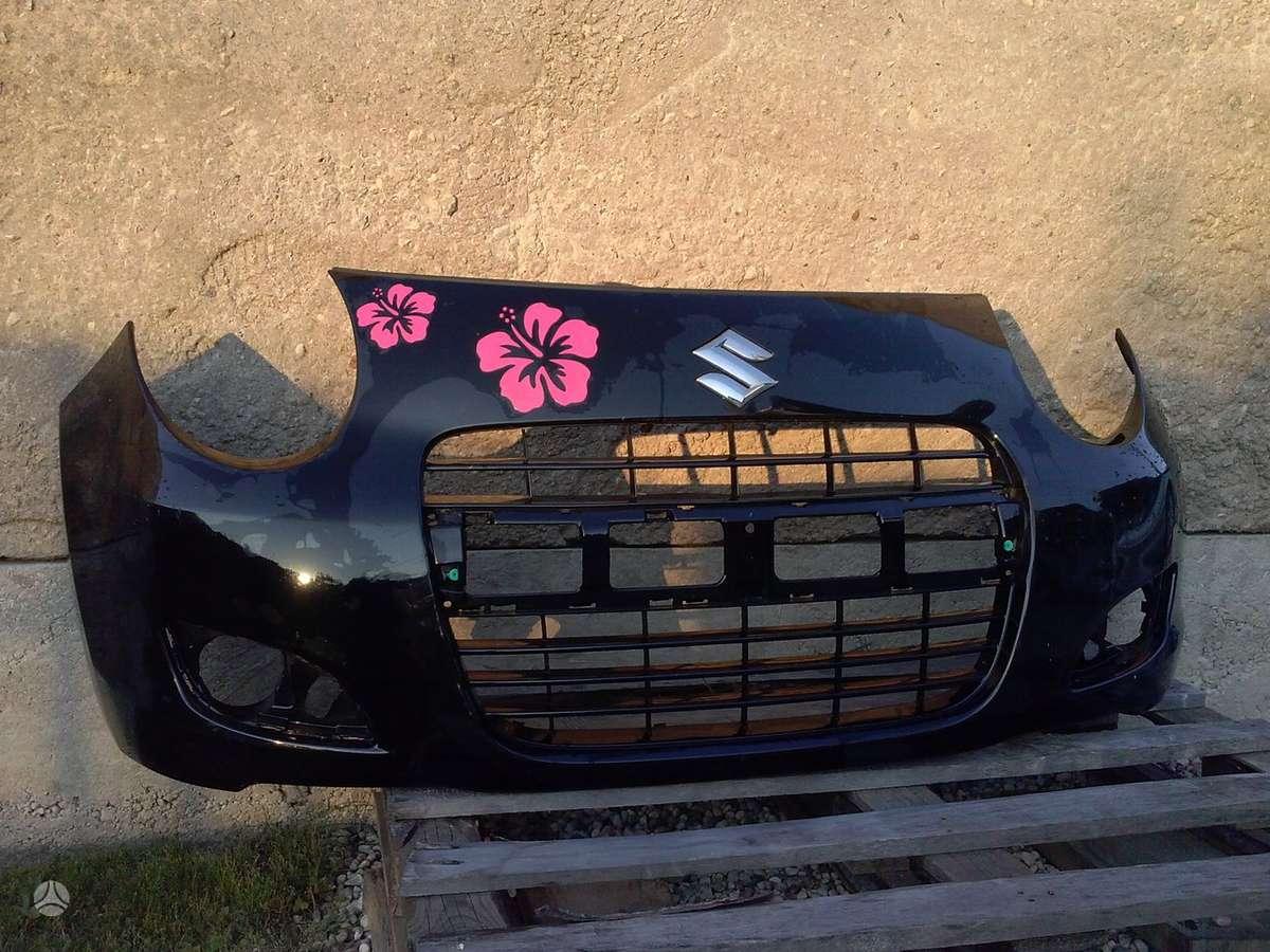 Suzuki Alto. Pr. buferis, sparnai, kapotas, pr. panėlė, žibintai,