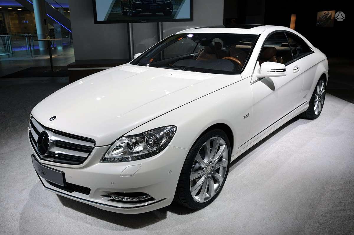 Mercedes-Benz CL klasė dalimis. !!!! naujos originalios dalys !!!
