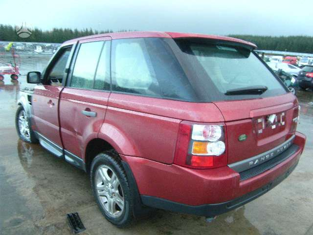 Land Rover Range Rover Sport dalimis. Is anglijos, variklio
