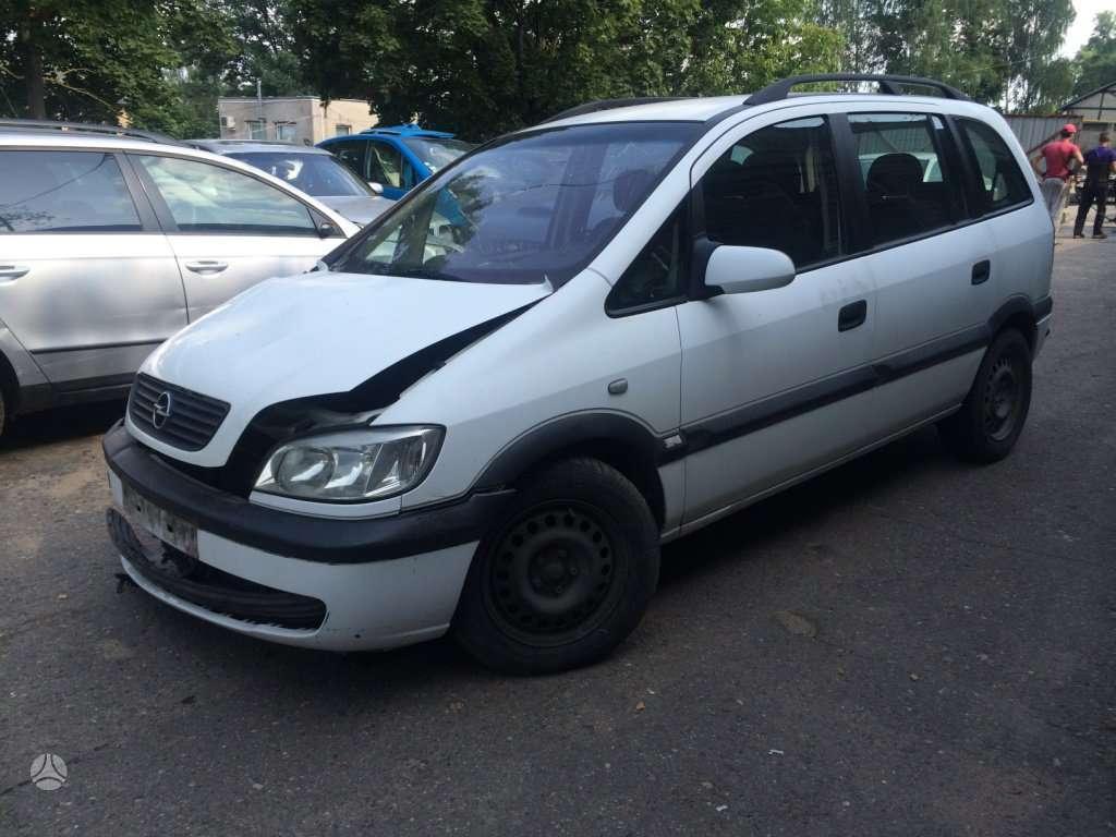 Opel Zafira. 2,0 dti, europine, 7 sedimos vietos.  naudotos
