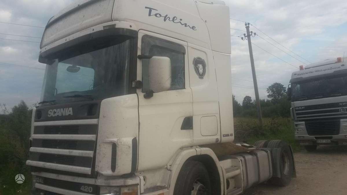 Scania, R420, vilkikai