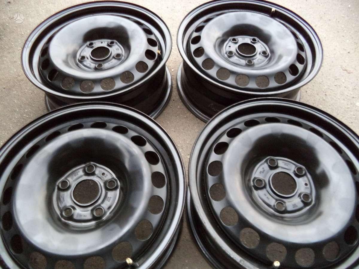 Ronal VW / AUDI / SEAT / SKODA, plieniniai štampuoti, R16