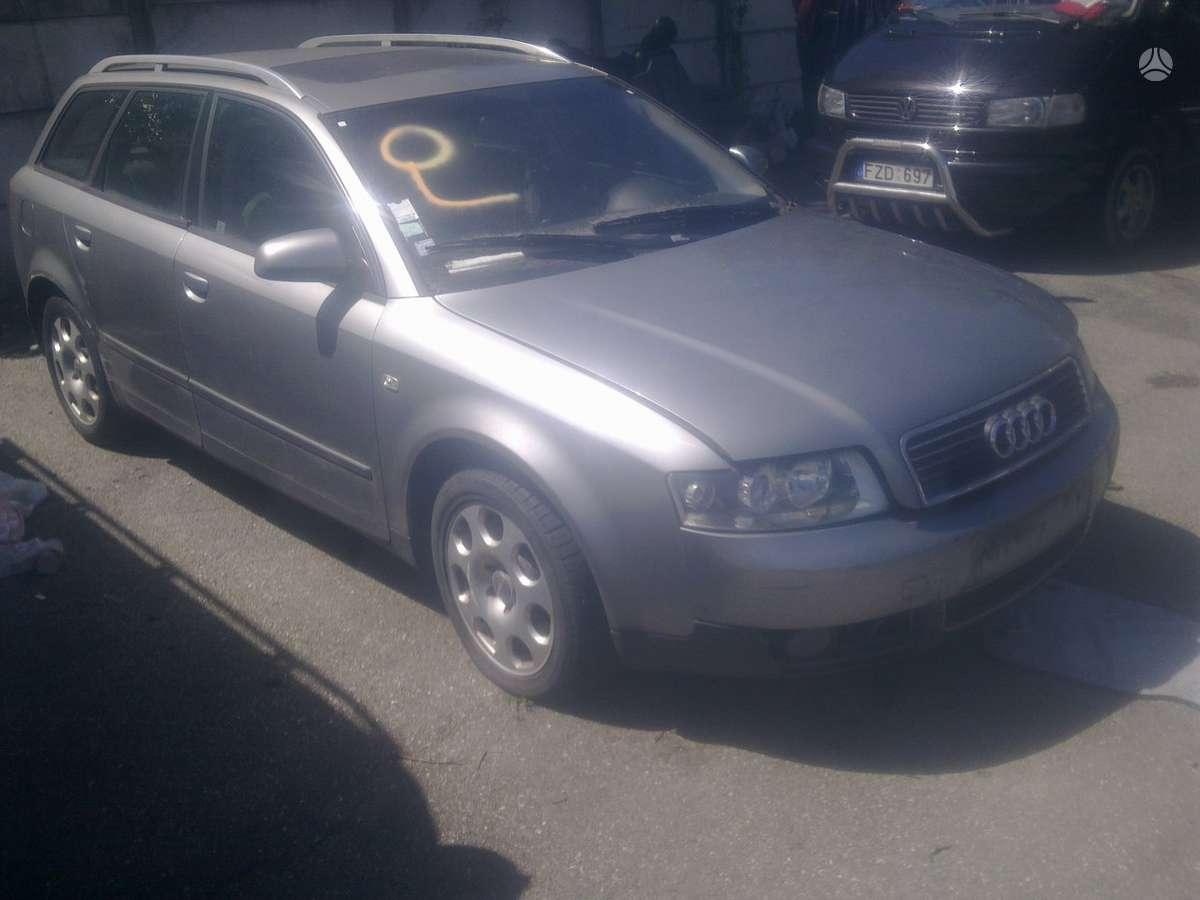 Audi A4. 1.9d; 2.4i europa