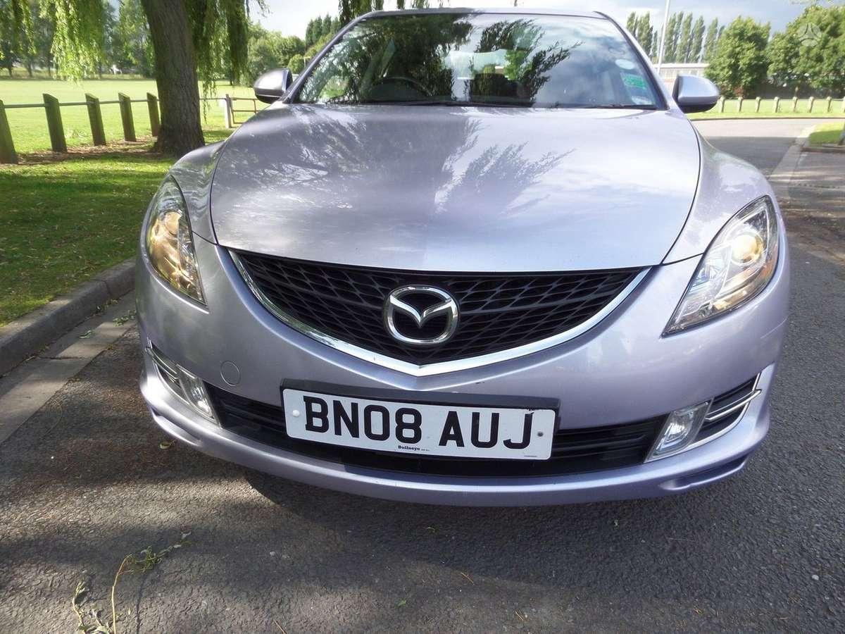 Mazda 6 dalimis. Is anglijos, srs, abs, lieti ratlankiai, 2.0l