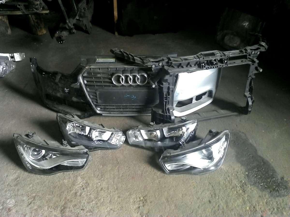 Audi A1. Prekyba auto dalimis naudotomis europietiškiems, japoniš