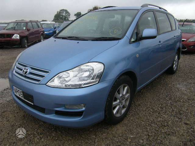 Toyota Avensis Verso dalimis. Is anglijos,d4d dyzelis,