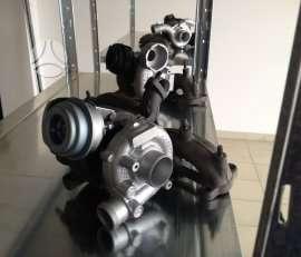 BMW 120. Kokybiškai ir greitai remontuojame turbokompresorius.