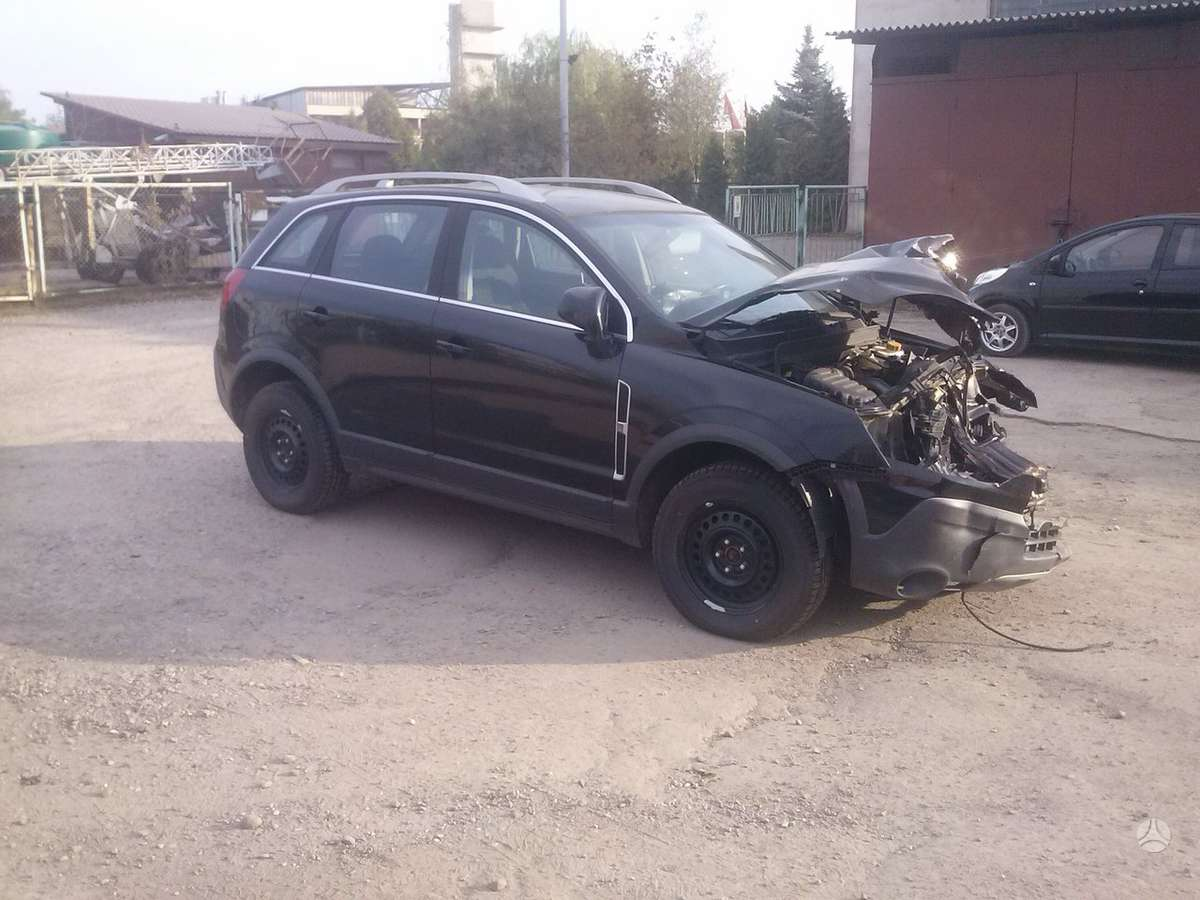 Opel Antara. Europa.