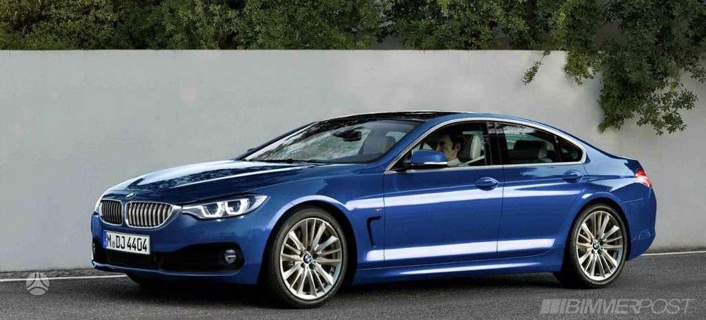 BMW 435 Gran Coupe dalimis. Prekiaujame tik naujomis