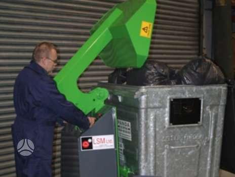 -Kita- BIN PACKER, atliekų (šiukšlių) konteineriai