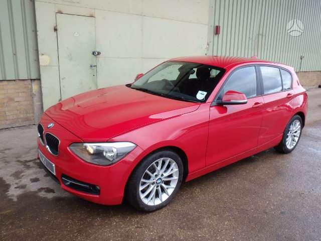 BMW 1 serija. Bmw f20 116i,116d,120d,135i m-paket naudotos ir
