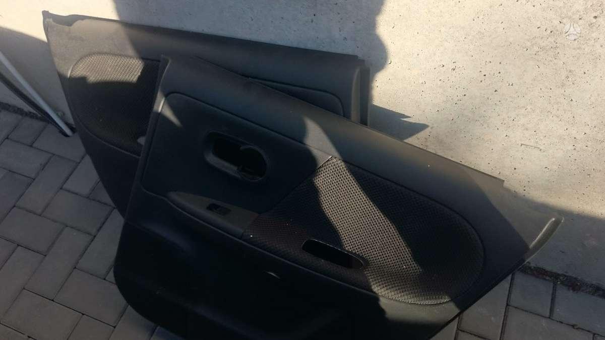 Nissan Note durų apmušalai, sėdynės