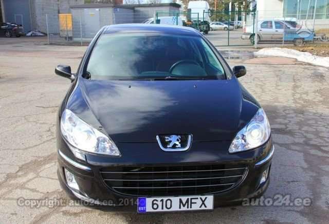 Peugeot 407. Xenon,navigacija,webasto,lieti ratai r18,odinis