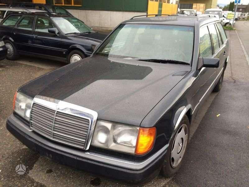 Mercedes-Benz 124. Automatinė greičių dėžė nr.  variklio nr.