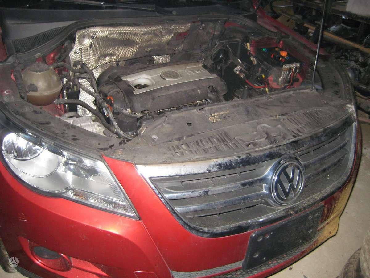 Volkswagen Tiguan. Auto isardyta usa.