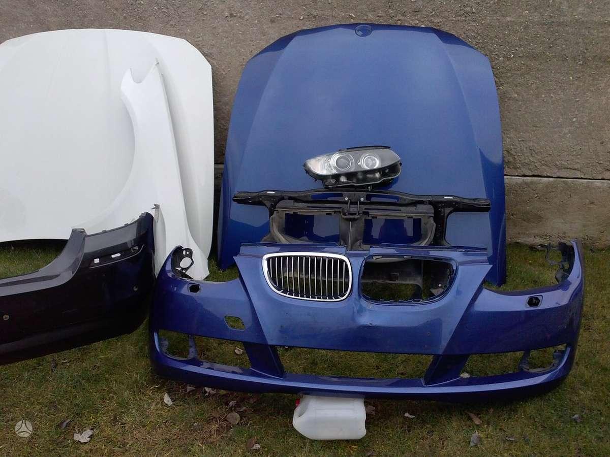 BMW M Coupe. Pr.buferis m,m paketo ir paprastas,pr.panelė, vairo