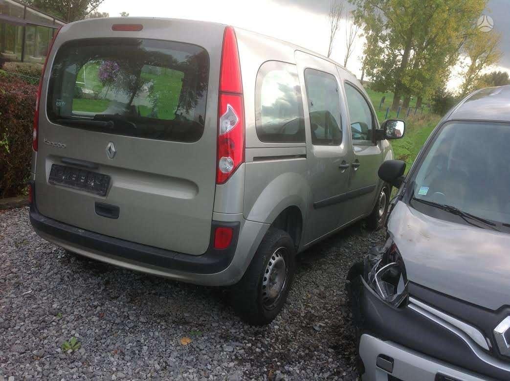 Renault Kangoo dalimis. Europa keleivinis su sedynemis 1500dci