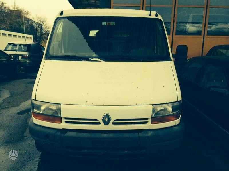 Renault, Master, krovininiai mikroautobusai