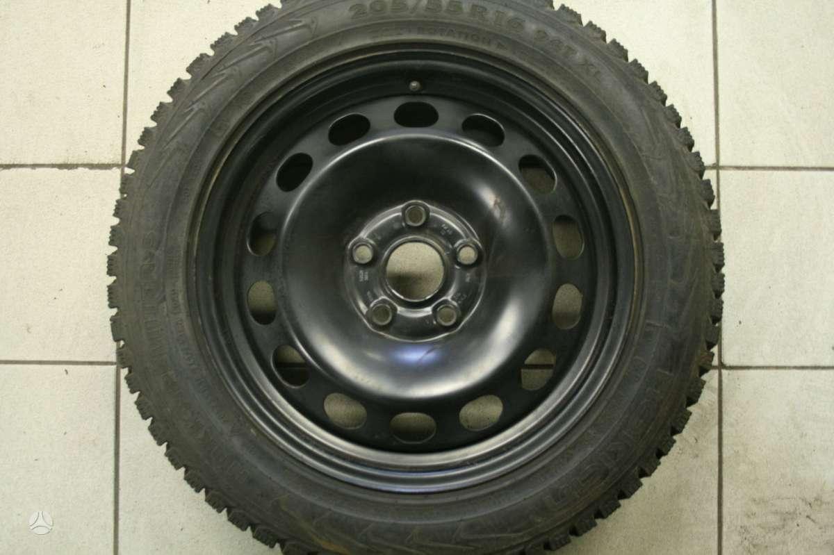 Volkswagen, plieniniai štampuoti, R16