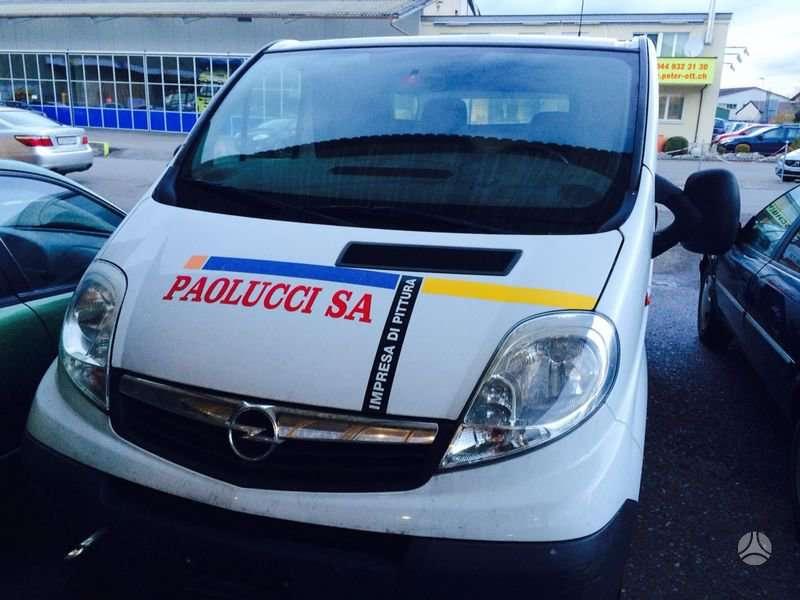 Opel Vivaro. Europa iš šveicarijos(ch) возможна доставка в ru,