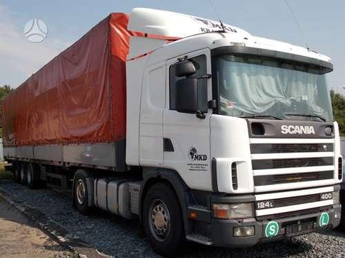 Scania, 124-400   1400 litru  bakai, vilkikai