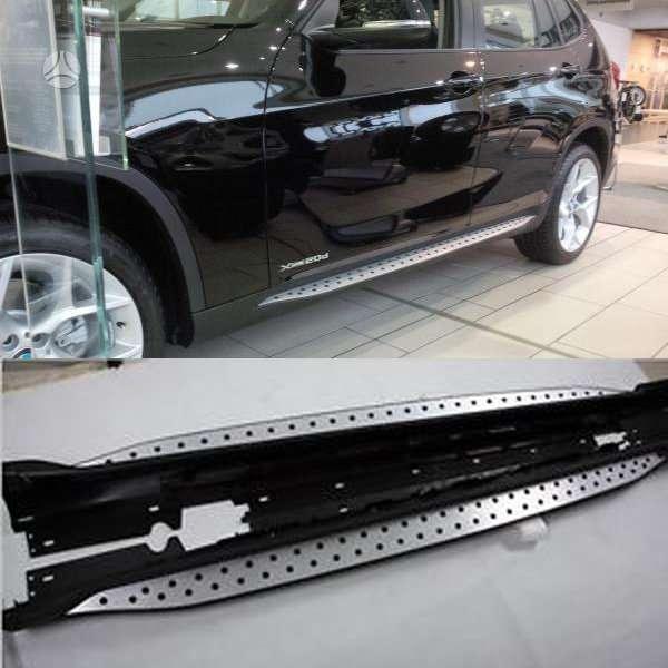 BMW X1 slenksčiai