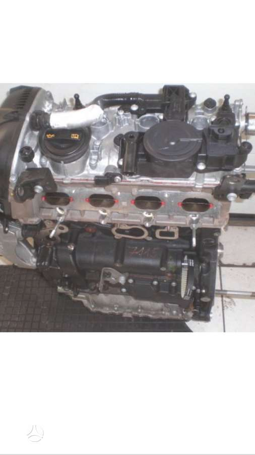 Volkswagen Tiguan. Tiktai variklis kodas...cct