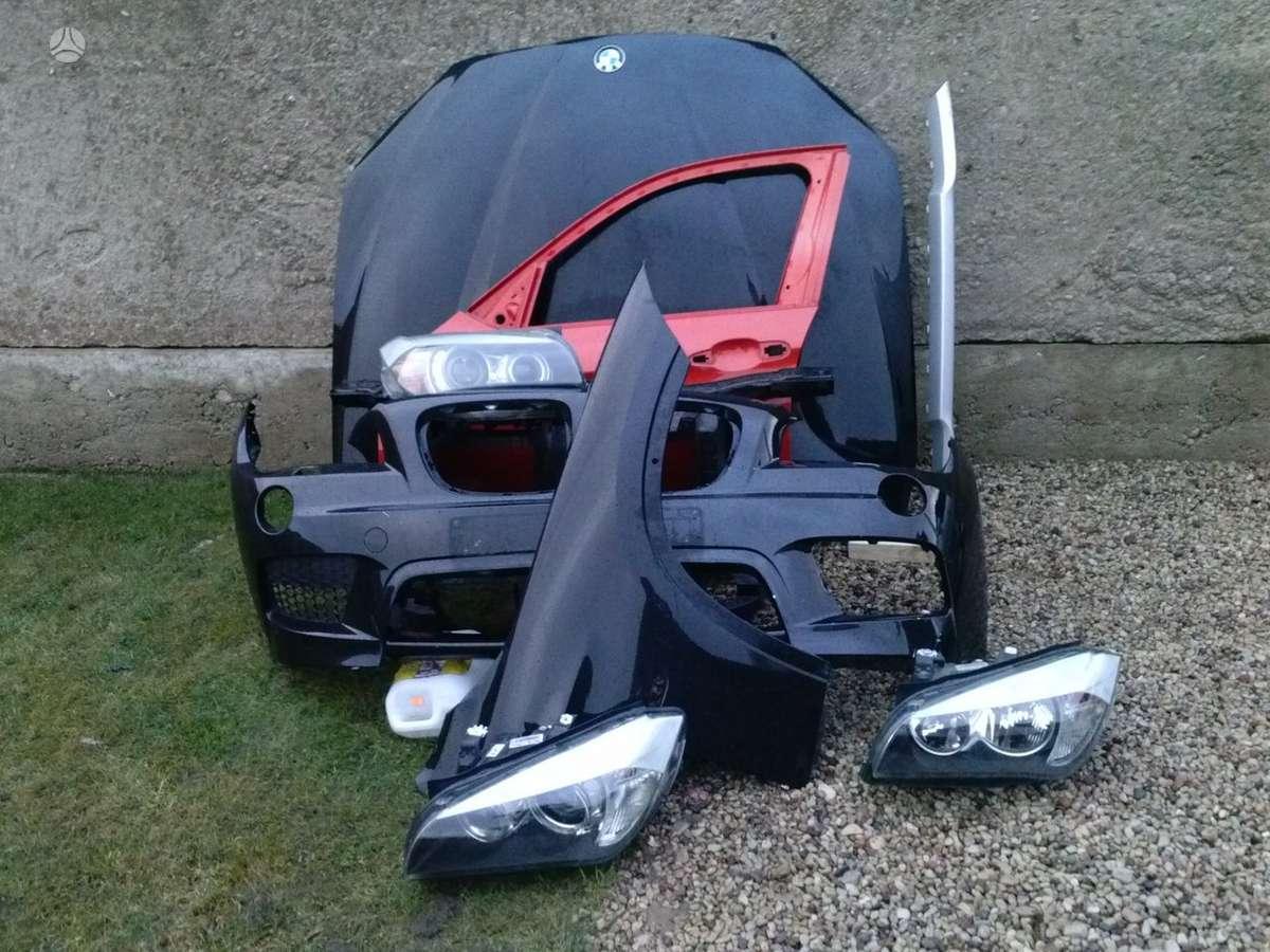 BMW X1. Priekinis kapotas, pr.kapoto lankstai, gal.dangtis,