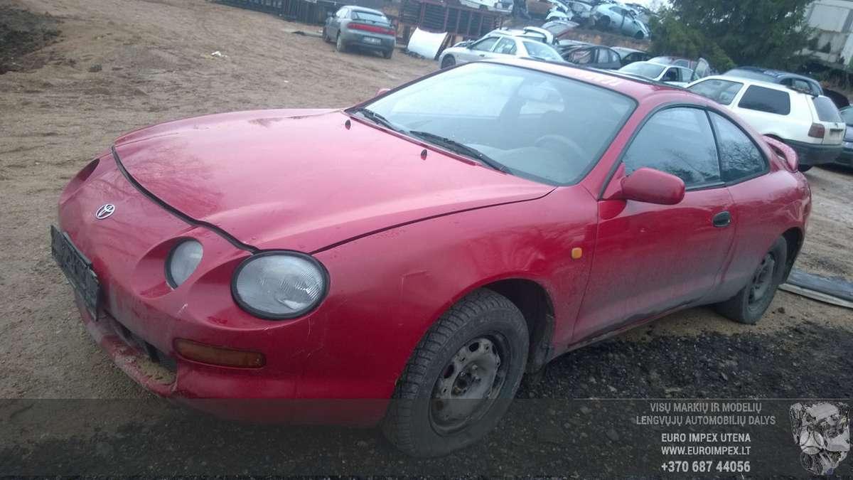 Toyota Celica dalimis. Automobilis ardomas dalimis:  запасные ча