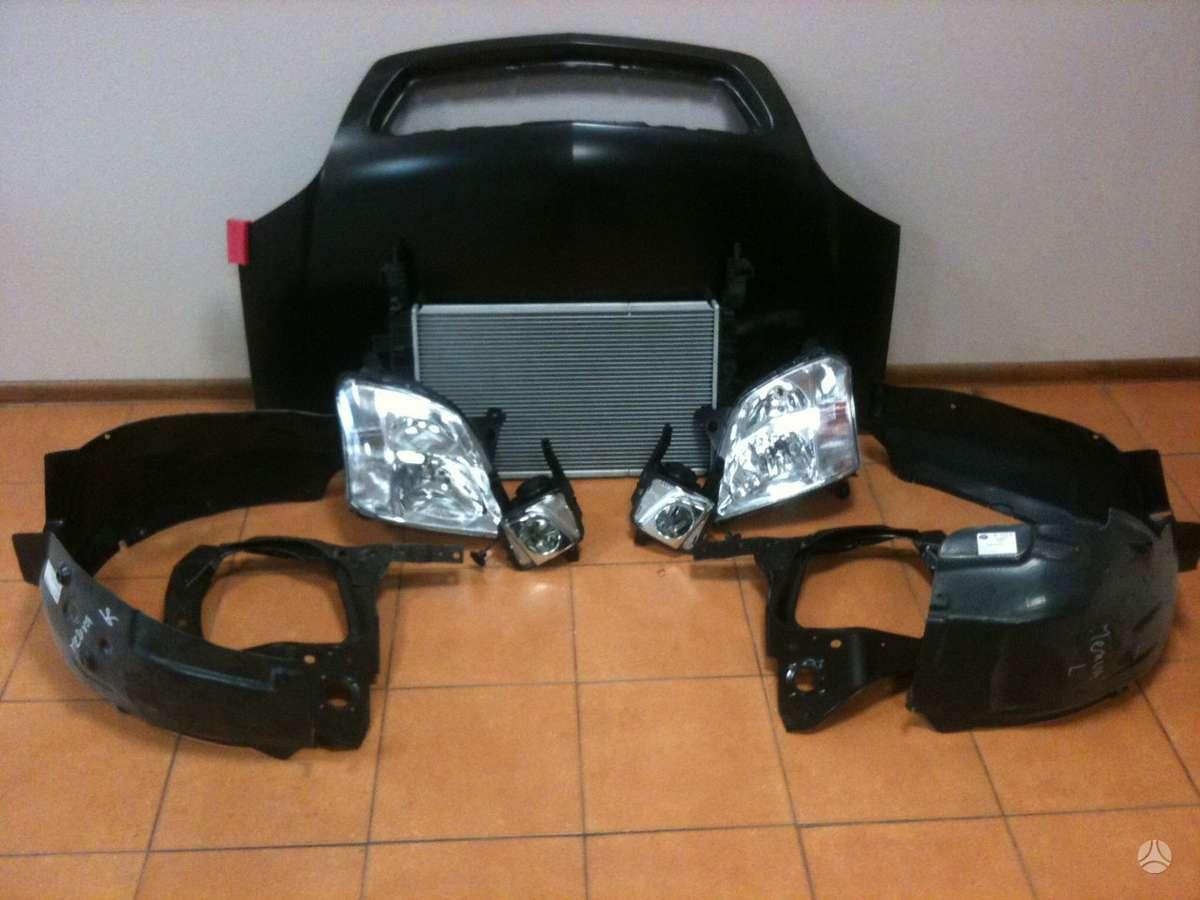 Opel Meriva. Parduodame visiems modeliams kėbulo bei važiuoklės