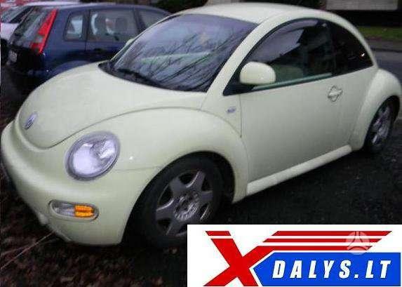 Volkswagen New Beetle. Www.xdalys.lt  bene didžiausia naudotų