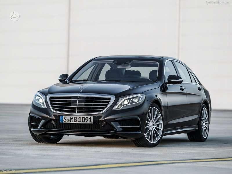 Mercedes-Benz S klasė dalimis. Naudotos detalės automobiliui