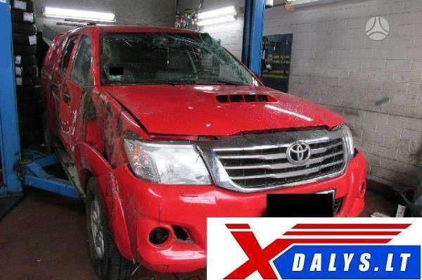 Toyota Hilux. Www.xdalys.lt  bene didžiausia naudotų ir naujų
