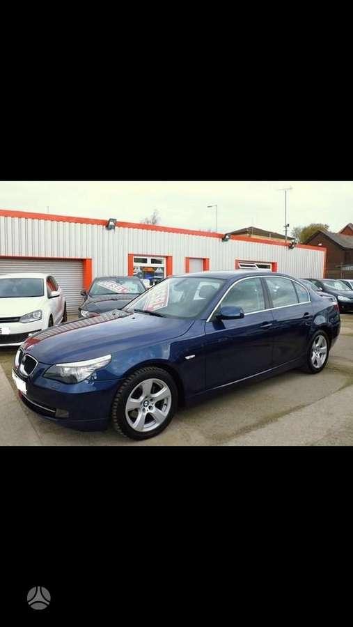 BMW 5 serija dalimis. Superkame automobilius su defektais,