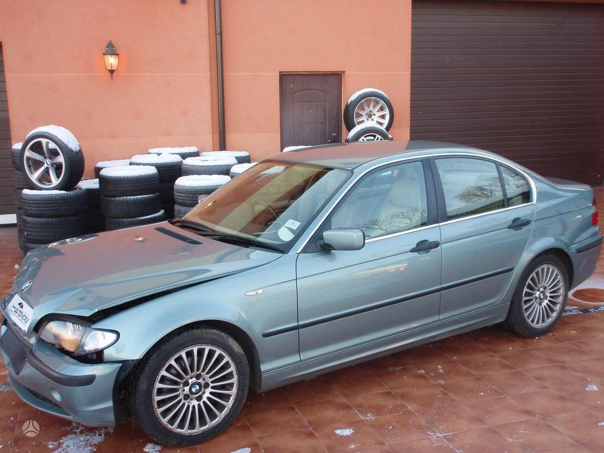 BMW 320 dalimis. Bmw3 e46 coupe, cabrio, sedan, compact, touring