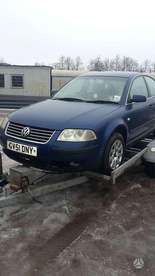 Volkswagen Passat. Vw passat, 2001 m., 2,0 benzinas, 4/5 durys,