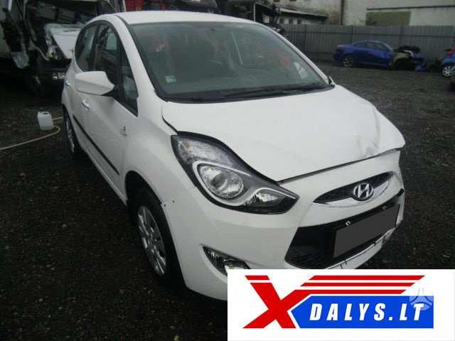 Hyundai ix20 dalimis. Jau dabar e-parduotuvėje www.xdalys.lt jūs