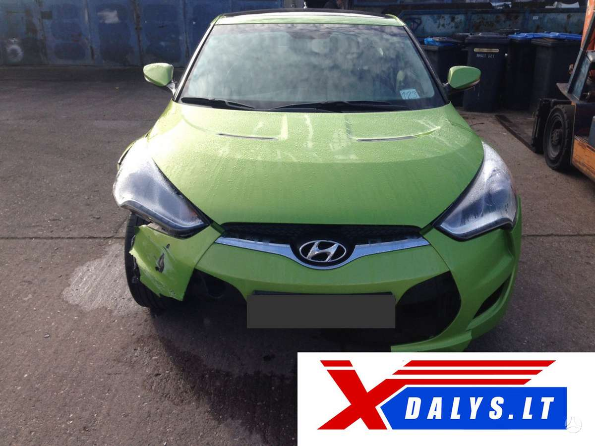 Hyundai Veloster dalimis. Jau dabar e-parduotuvėje www.xdalys.lt