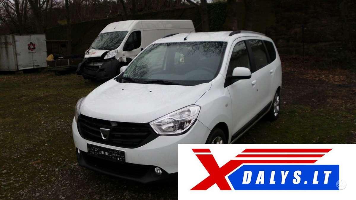 Dacia Lodgy dalimis. Www.xdalys.lt  bene didžiausia naudotų ir
