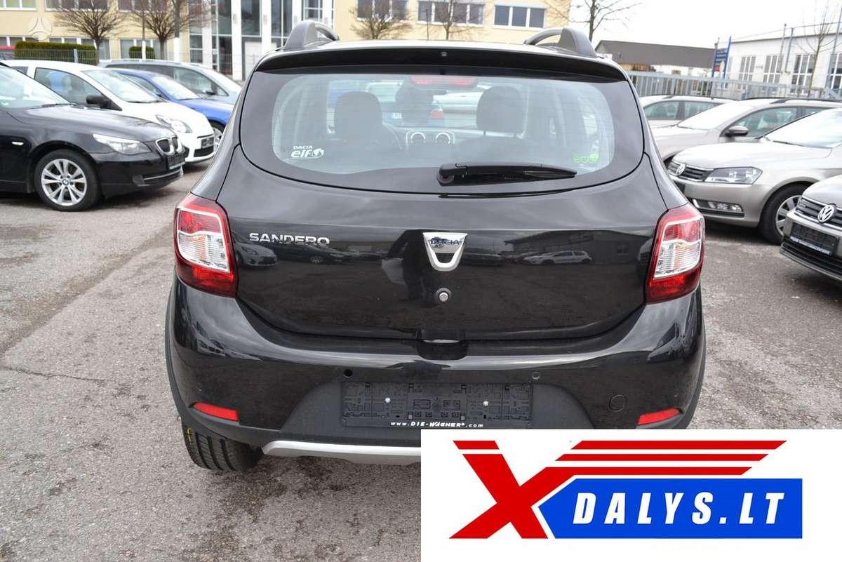 Dacia Sandero dalimis. Www.xdalys.lt  bene didžiausia naudotų