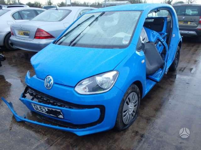 Volkswagen Up. Platus naudotų detalių pasirinkimas, asortimentas