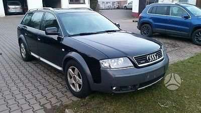 Audi A6 ALLROAD. Europine