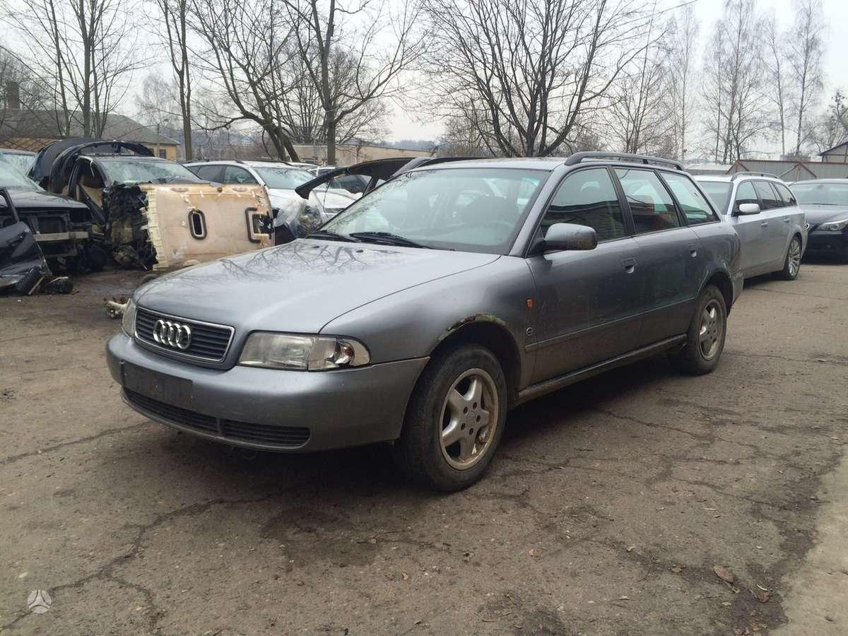 Audi A4. naudotos automobiliu dalys automobiliai nuo 1995 iki