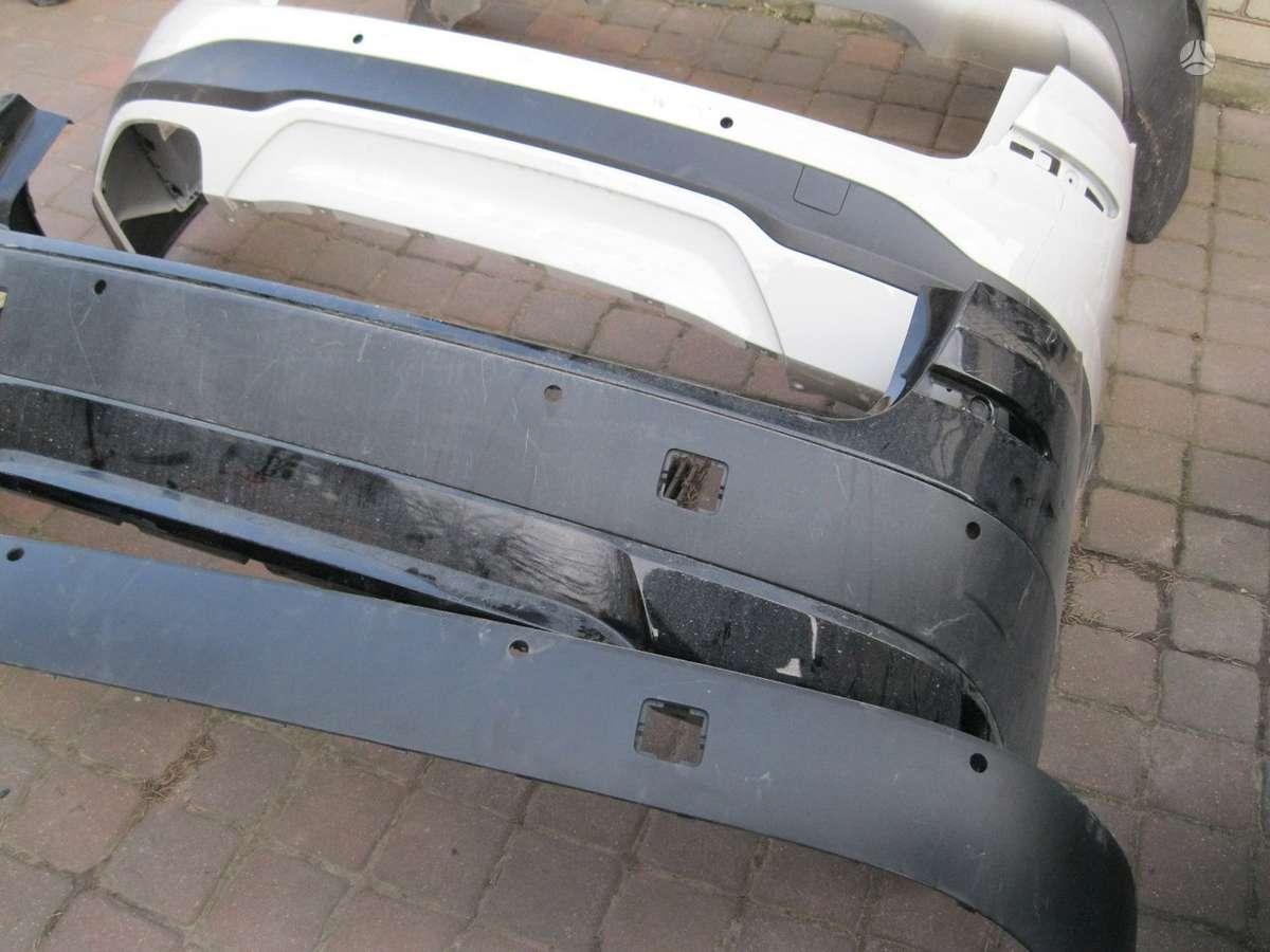 BMW X3. -- durys---gal. buferis----parktronikai  ir jų laidai----