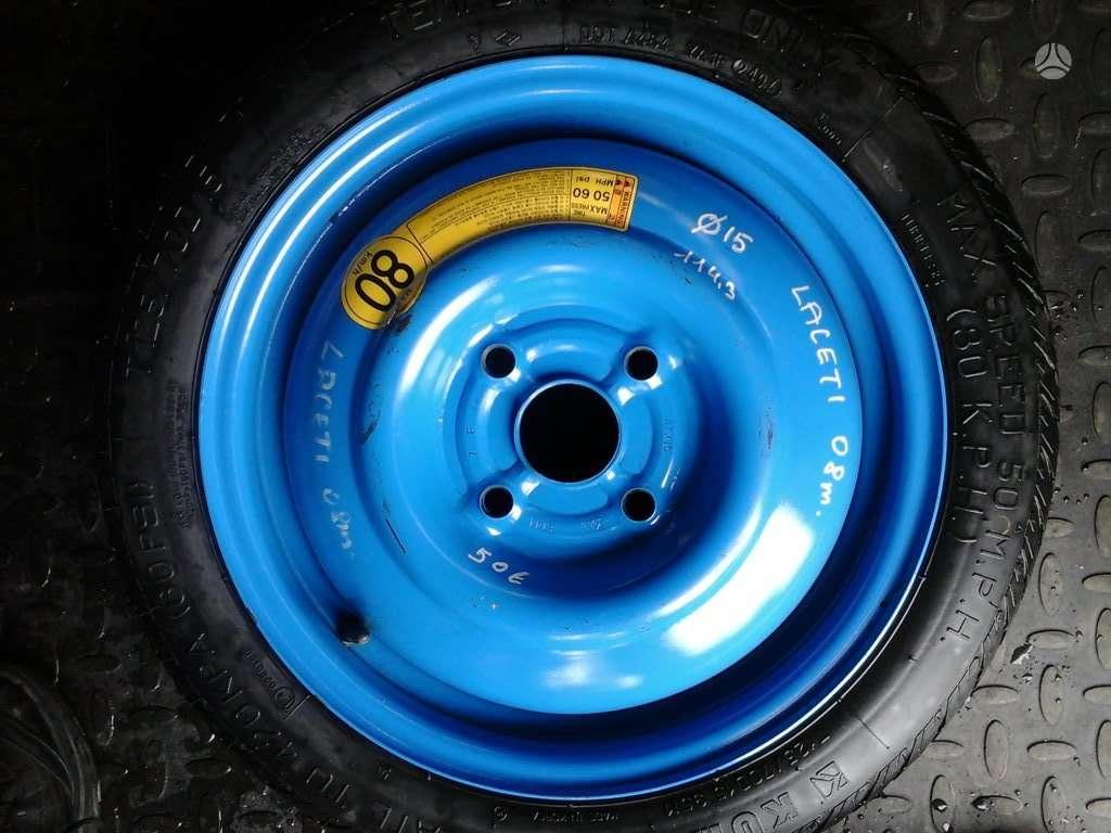 Hyundai CHEVROLET - LACETI, plieniniai štampuoti, R15