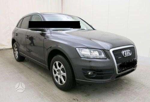 Audi Q5. Automobilis visas dalimis. radiatorių kompl.,  panelė