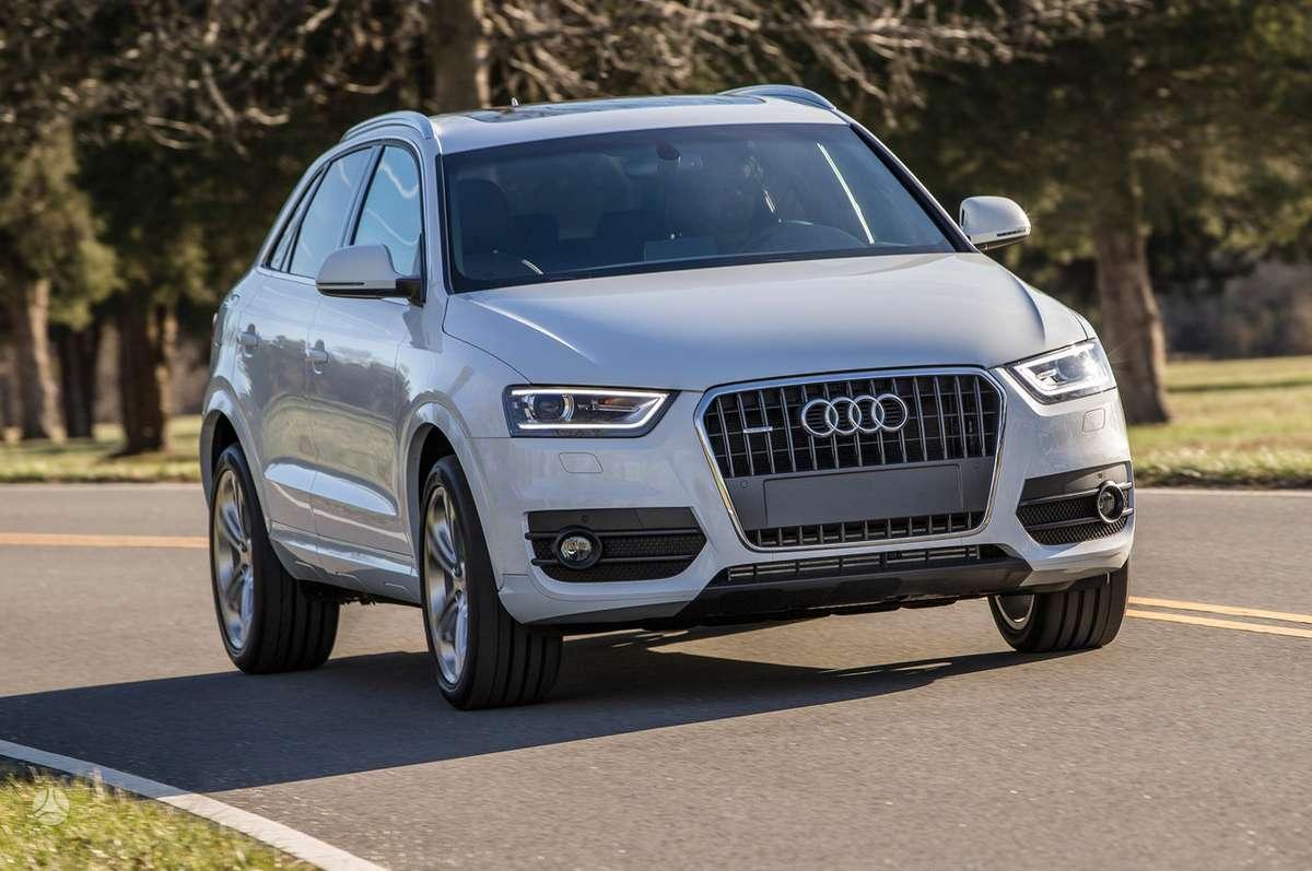 Audi Q3. Naujų orginalių detalių užsakymas prieinamiausiomis